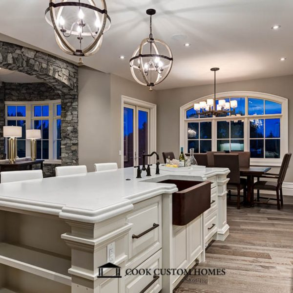 Cook Custom - White Granite