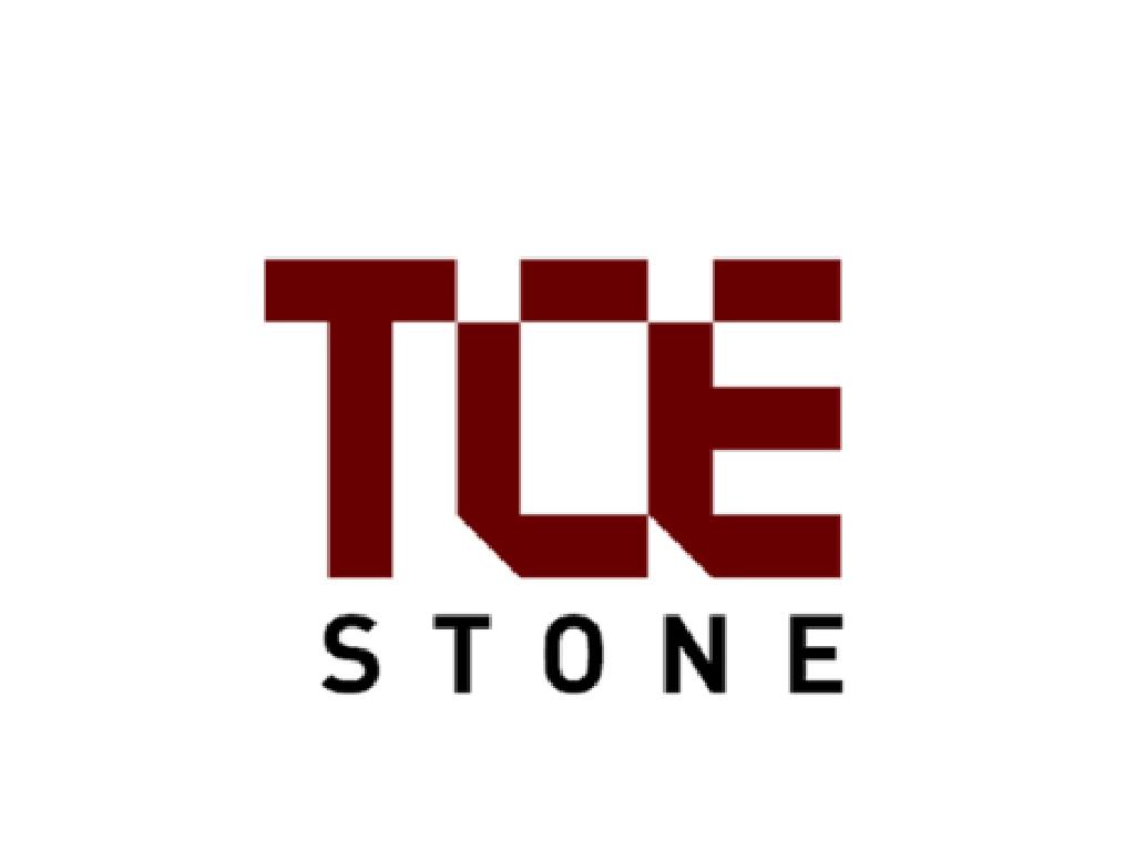 Logo:  tce stone
